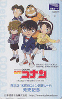 Carte Prépayée Japon  - MANGA - DETECTIVE CONAN ** ONE PUNCH ** - ANIME Japan Prepaid Tosho Card - 11228 - BD