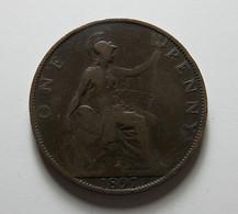 Great Britain 1 Penny 1897 - 1816-1901 : Coniature XIX° S.