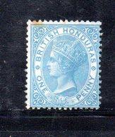 APR138 - BRITISH HONDURAS 1866 ,  Yvert N. 1  Nuovo Senza Gomma. Punti Di Ossidazione. Em. Diena - British Honduras (...-1970)