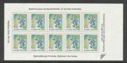 FINLANDE - 1998 - CARNET  YT C1396 - Facit MA1430 - Neuf ** MNH - Fleurs, Timbre D'usage Courant SVI-1st Klass - Finland