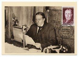 Carte Maximum 1964 - Georges Mandel - Ancien Ministre Des Postes - YT 1423 - Chatou - Maximum Cards