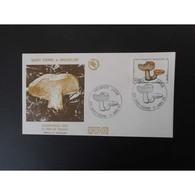 FDC - Champignon, Le Pied De Mouton, Oblit 17/1/90 - FDC