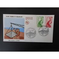 FDC - La Pêche, Oblit 7/8/88 - FDC