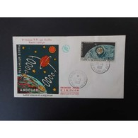 FDC - Télécommunications Spatiales (Telstar)oblit 22/11/62 - FDC