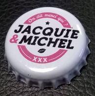 Capsule De Bière Jacquie & Michel On Dit Merci Qui ? - Bier