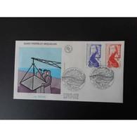 FDC - La Pêche, Oblit 22/10/86 - FDC