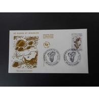 FDC - Mousses Et Lichens, Oblit 8/3/95 - FDC