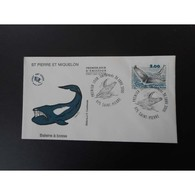 FDC - Baleine à Bosse, Oblit 26/1/2000 - FDC
