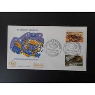 FDC - Crustacés Et Mollusques, Oblit 5/7/95 - FDC