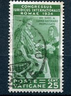 Vaticano 1935 - Congresso Giuridico - 25 Cent. - Vatican