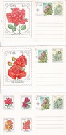 RSA - 6* Postcards W/ Roses - Unused - 1979 - Briefe U. Dokumente