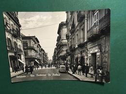 Cartolina Taranto - Via Federico Di Palma - 1952 - Taranto
