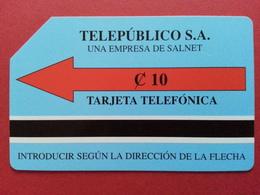 EL SALVADOR - RARE ELS-M-02 TEST 10 Colon BLUE - Less Than 20 Ex ? RRR - Urmet Used (CA0417 - Salvador