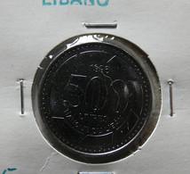 Lebanon 500 Livres 1996 Varnished - Lebanon