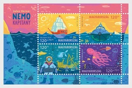 H01 Hungary 2019 For Youth 2019 - Jules Verne's Captain Nemo MNH Postfrisch - Hungary