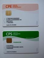 Lot De 2 Cartes Professionnel De Sante - France