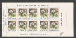 FINLANDE - 1993 - CARNET  YT C1183 - Facit H20 - Neuf ** MNH - Fleurs, Série Courante SVI - 1st Klass - Finland