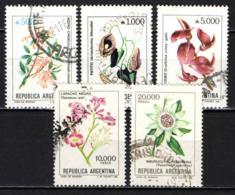 ARGENTINA - 1982 - FIORI - FLOWERS - USATI - Argentina