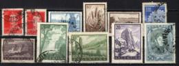 ARGENTINA - 1954 - IMMAGINI DELL'ARGENTINA - USATI - Usati