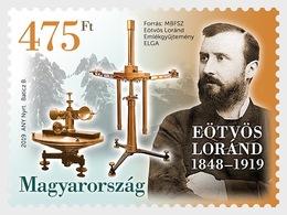 H01 Hungary 2019Famous Hungarians - Roland Eotvos MNH Postfrisch - Hongarije