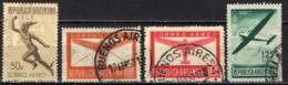 ARGENTINA - 1940 - MERCURIO E AEROPLANO STILIZZATO - USATI - Posta Aerea