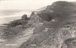 Postcard Sandymouth Nr Bude Cornwall PU 1964  My Ref  B12990 - England