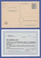 SBZ Allg. Ausgaben Ganzsache P 31 * Mit KOPFSTEHENDEM Aufdruck,  FB Paul BPP - Zona Sovietica