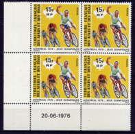 AFARS - 432CD** - JEUX OLYMPIQUES DE MONTREAL / CYCLISME - Afars Et Issas (1967-1977)