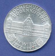 Österreich 50-Schilling Silber-Gedenkmünze 1972, Hochschule Für Bodenkultur Wien - Oesterreich