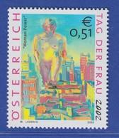 Österreich 2002 Sondermarke Tag Der Frau Woman Power Mi.-Nr. 2371 - 2001-10 Ungebraucht