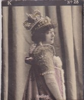 HADING. COLORISE. CARD TARJETA COLECCIONABLE TABACO. CIRCA 1915 SIZE 4.5x5.5cm - BLEUP - Berühmtheiten