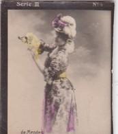 DE MENDES. HABANILLOS LA PLATA. COLORISE. CARD TARJETA COLECCIONABLE TABACO. CIRCA 1915 SIZE 4.5x5.5cm - BLEUP - Berühmtheiten
