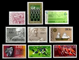 PORTUGAL, Discount Sale, Fine Selection Of Commemoratives, With Many High Values, */** MLH/MNH, F/VF, Cat. € 19,00 - 1910-... République