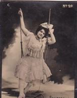 FAURENS. CIGARRILLOS FE. COLORISE. CARD TARJETA COLECCIONABLE TABACO. CIRCA 1915 SIZE 4.5x5.5cm - BLEUP - Berühmtheiten