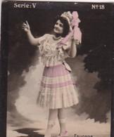 FAURENS. HABANILLOS LA PLATA. COLORISE. CARD TARJETA COLECCIONABLE TABACO. CIRCA 1915 SIZE 4.5x5.5cm - BLEUP - Célébrités