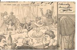 ORENS (Denizard) AFFAIRE HUMBERT Un Diner Chez Les Humbert - Orens
