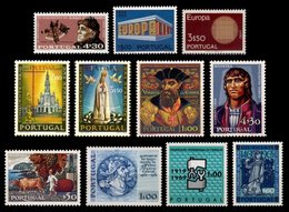 PORTUGAL, Discount Sale, Fine Selection Of Commemoratives, With Many High Values, */** MLH/MNH, F/VF, Cat. € 47,50 - 1910-... République