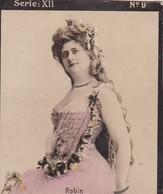 ROBIN. HABANILLOS LA PLATA. COLORISE. CARD TARJETA COLECCIONABLE TABACO. CIRCA 1915 SIZE 4.5x5.5cm - BLEUP - Berühmtheiten