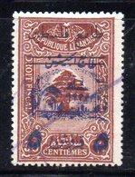 APR172 - GRAND LIBAN 1945 , Yvert N. 197  Usato . - Usati
