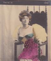 CECILE SOREL. COLORISE. CARD TARJETA COLECCIONABLE TABACO. CIRCA 1915 SIZE 4.5x5.5cm - BLEUP - Célébrités