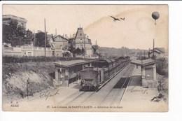 97 - Les Coteaux De SAINT-CLOUD - Intérieur De La Gare (Train à Quai) - Saint Cloud