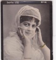 GESSNER. HABANILLOS LA PLATA. COLORISE. CARD TARJETA COLECCIONABLE TABACO. CIRCA 1915 SIZE 4.5x5.5cm - BLEUP - Berühmtheiten