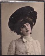 CIRSUAVE. CIGARRILLOS FE. COLORISE. CARD TARJETA COLECCIONABLE TABACO. CIRCA 1915 SIZE 4.5x5.5cm - BLEUP - Célébrités