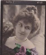 MARTINO. HABANILLOS LA PLATA. COLORISE. CARD TARJETA COLECCIONABLE TABACO. CIRCA 1915 SIZE 4.5x5.5cm - BLEUP - Célébrités