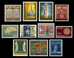 PORTUGAL, Discount Sale, Fine Selection Of Commemoratives, With Many High Values, (*)/* MNG/MLH, F/VF, Cat. € 40,00 - 1910-... République