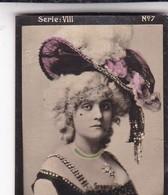 GREENE. HABANILLOS LA PLATA. COLORISE. CARD TARJETA COLECCIONABLE TABACO. CIRCA 1915 SIZE 4.5x5.5cm - BLEUP - Célébrités