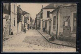 Sceaux - CP Ancienne - Rue Des Ecoles - Voir Scans Recto + Verso - Sceaux