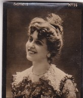 BRESIL. HABANILLOS LA PLATA. COLORISE. CARD TARJETA COLECCIONABLE TABACO. CIRCA 1915 SIZE 4.5x5.5cm - BLEUP - Berühmtheiten