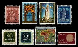 PORTUGAL, Discount Sale, Fine Selection Of Commemoratives, With Many High Values, */** MLH/MNH, F/VF, Cat. € 30,50 - 1910-... République