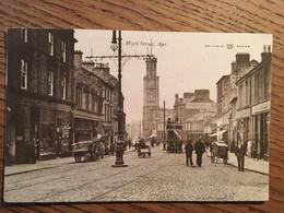 CPA, High Street, Ayr, écrite En 1905, Timbre, Animée, Bon état - Ayrshire